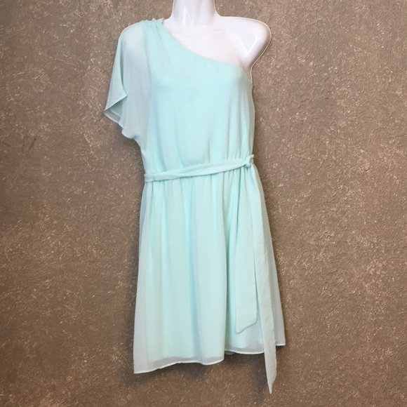 Express Dresses & Skirts - Express One Shoulder Chiffon Dress